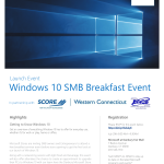 Microsoft Windows 10 Launch Day SMB Breakfast Event