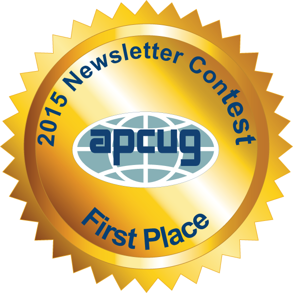 2015 Newsletter First Place