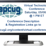 APCUG 2017 Spring Virtual Technology Conference (VTC24)