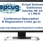 APCUG 2017 Summer Virtual Technology Conference